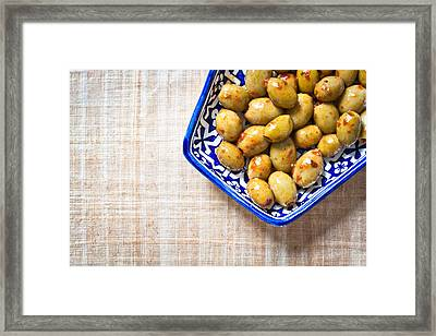 0lives Framed Print