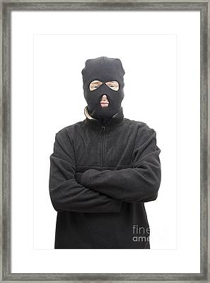 Arms Folded Assailant  Framed Print by Jorgo Photography - Wall Art Gallery