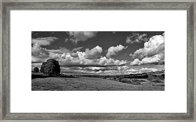Culm Valley In Devon Framed Print