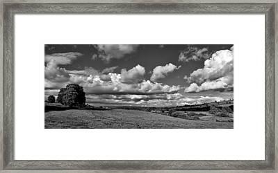 Culm Valley In Devon Framed Print