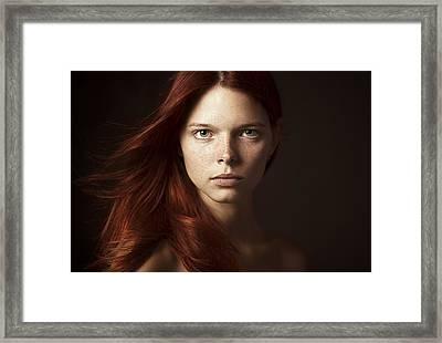 ___ Framed Print by Danil Rudoy