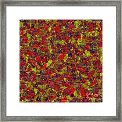 0196 Abstract Thought Framed Print by Chowdary V Arikatla