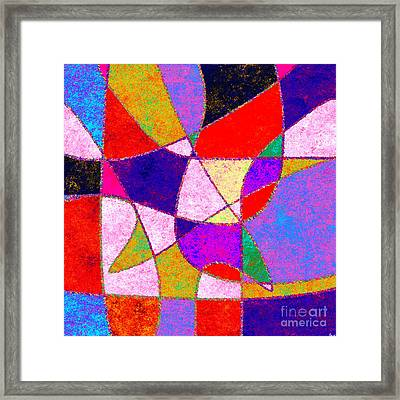 0269 Abstract Thought Framed Print