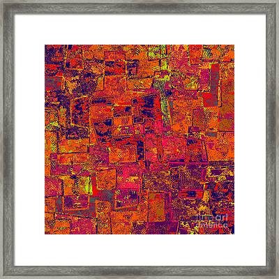 0295 Abstract Thought Framed Print by Chowdary V Arikatla