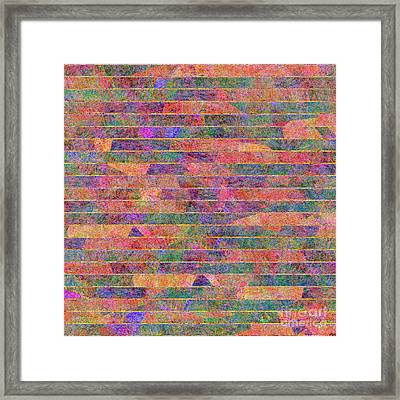 0310 Abstract Thought Framed Print
