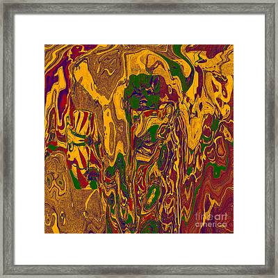 0478 Abstract Thought Framed Print by Chowdary V Arikatla