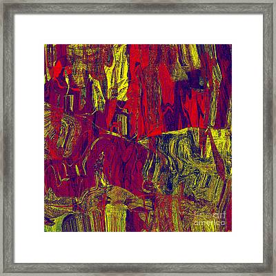 0479 Abstract Thought Framed Print by Chowdary V Arikatla