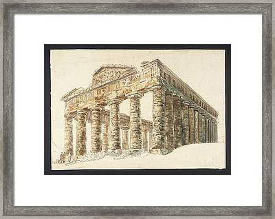 The Temple Of Ceres Framed Print