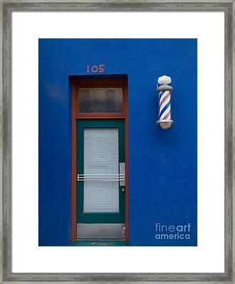 105 E. Main Street Framed Print