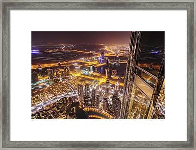124th Floor Framed Print