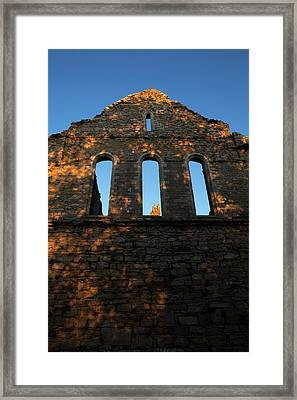 12th Century, Cistercian Jerpoint Abbey Framed Print