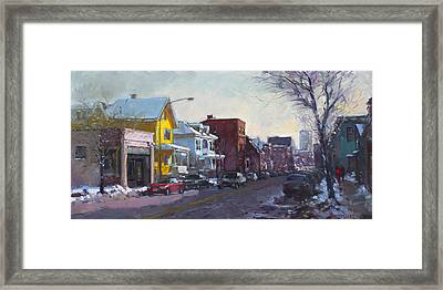 149 Elmwood Ave Savoy Framed Print
