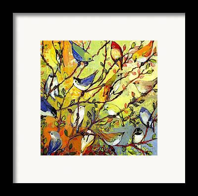 Chickadee Framed Prints