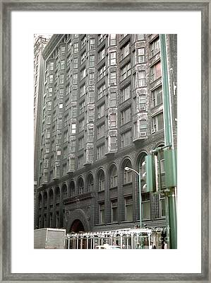 1889 Chicago Stock Exchange Building Framed Print