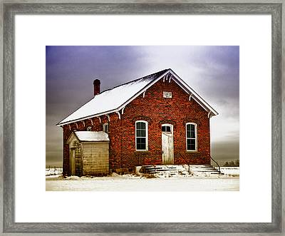 1890 School House Framed Print by JRP Photography