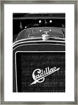 1907 Cadillac Model M Touring Grille Emblem Framed Print by Jill Reger