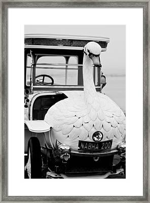 1910 Brooke Swan Car Framed Print