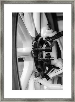 1912 Packard 30 7 Passenger Touring Wheel Framed Print by Jill Reger