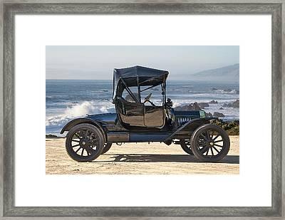 1915 Ford Model T Roadster Framed Print by Dave Koontz
