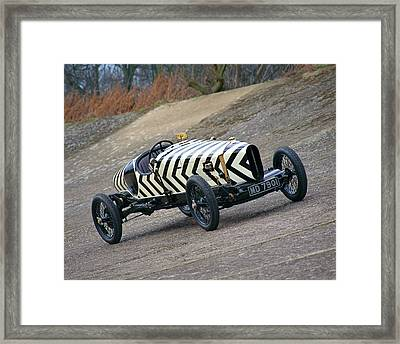 1918 Brooklands Straker-squire X2, 4.0 Framed Print