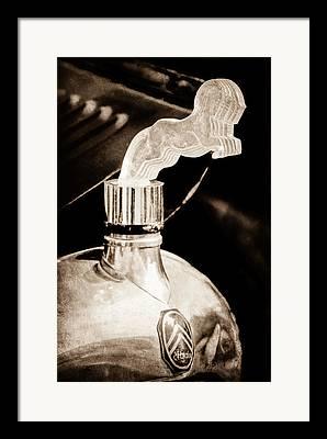 1925 Citroen Cloverleaf Framed Prints