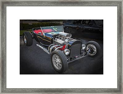 1925 Ford Model T Hot Rod Framed Print by Rich Franco