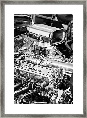 1927 Ford T-bucket Engine Framed Print by Jill Reger