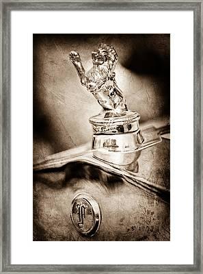 1927 Franklin Sedan Hood Ornament Framed Print