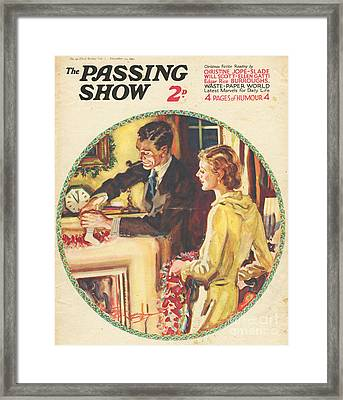 1930s,usa,the Passing Show,magazine Framed Print by The Advertising Archives