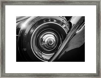 1937 Packard 1508 Dietrich Convertible Sedan Spare Tire Framed Print
