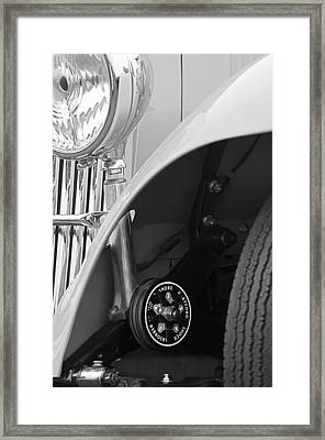 1939 Aston Martin 15-98 Abbey Coachworks Swb Sports Suspension Control Framed Print by Jill Reger