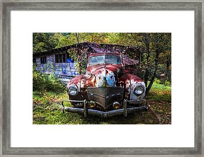 1940 Dodge Framed Print by Debra and Dave Vanderlaan