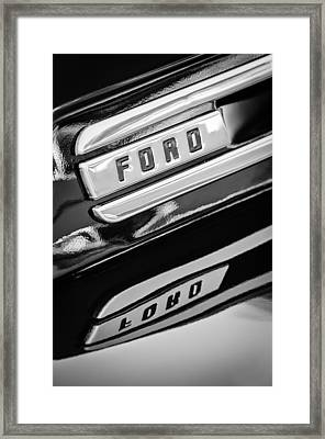 1948 Ford F-1 Pickup Truck Framed Print