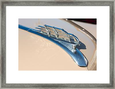 1949 Plymouth Hood Ornament Framed Print by Classic Visions