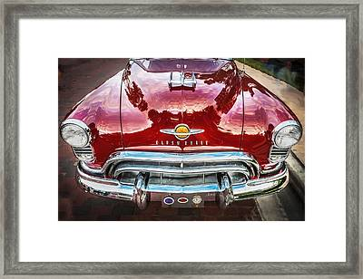 1950 Oldsmobile 88 Futurmatic Coupe  Framed Print
