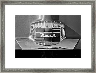 1951 Nash Emblem Framed Print by Jill Reger
