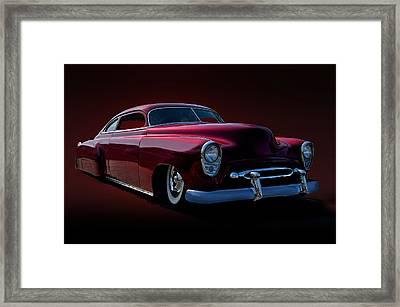1952 Chevrolet Custom Framed Print by Dave Koontz