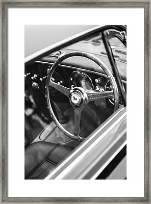 1952 Ferrari 212 Inter Vignale Coupe Steering Wheel Emblem Framed Print by Jill Reger