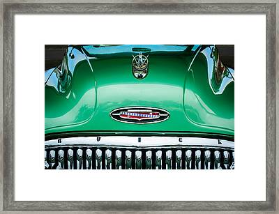 1953 Buick Hood Ornament - Emblem Framed Print by Jill Reger