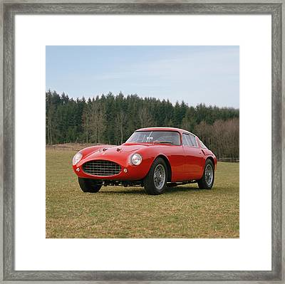 1953 Ferrari 250 Mille Miglia Framed Print by Panoramic Images