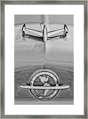 1954 Oldsmobile Super 88 Hood Ornament Framed Print by Jill Reger