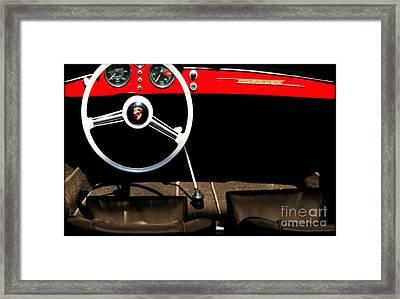 1954 Porsche Speedster  Framed Print by Steven Digman