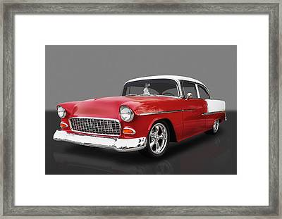 1955 Chevrolet Bel Air Framed Print