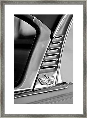1955 Dodge Custom Royal Lancer 2 Door Hardtop Emblem Framed Print