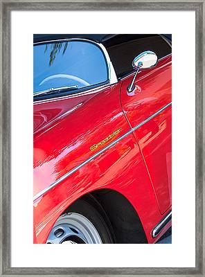 1955 Porsche 356 Speedster Framed Print by Jill Reger
