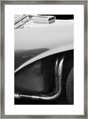 1956 Aston Martin Db3s Fixed Head Coupe  Framed Print by Jill Reger
