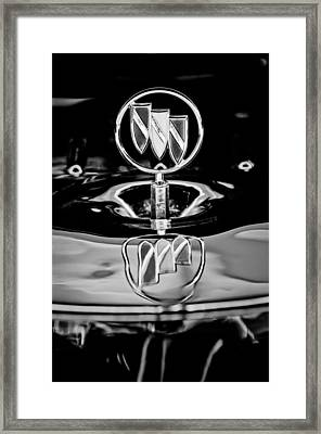 1956 Buick Special Hood Ornament Framed Print by Jill Reger