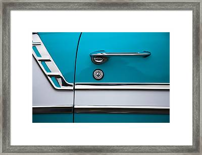 1956 Chevrolet Bel Air Framed Print by Carol Leigh