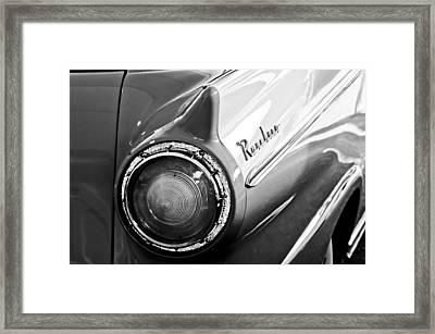1957 Ford Ranchero Pickup Truck Taillight Framed Print by Jill Reger
