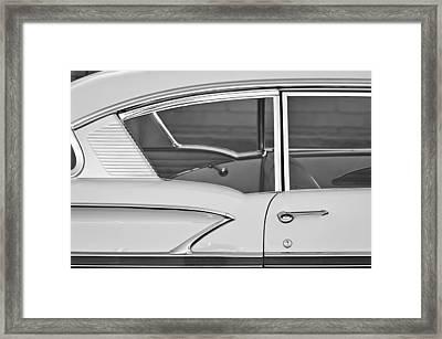 1958 Chevrolet Belair Framed Print